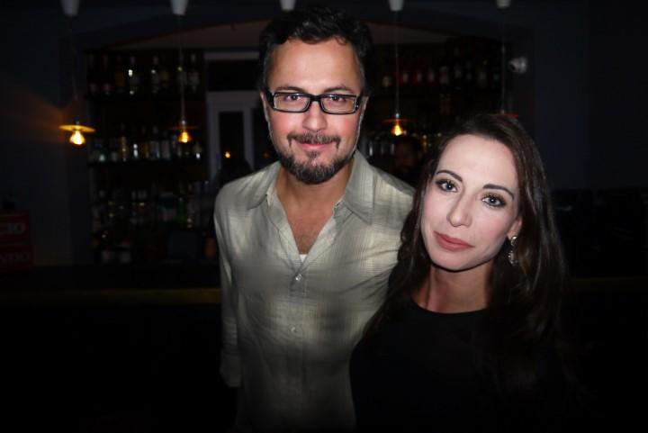 Marcos Lima e a namorada