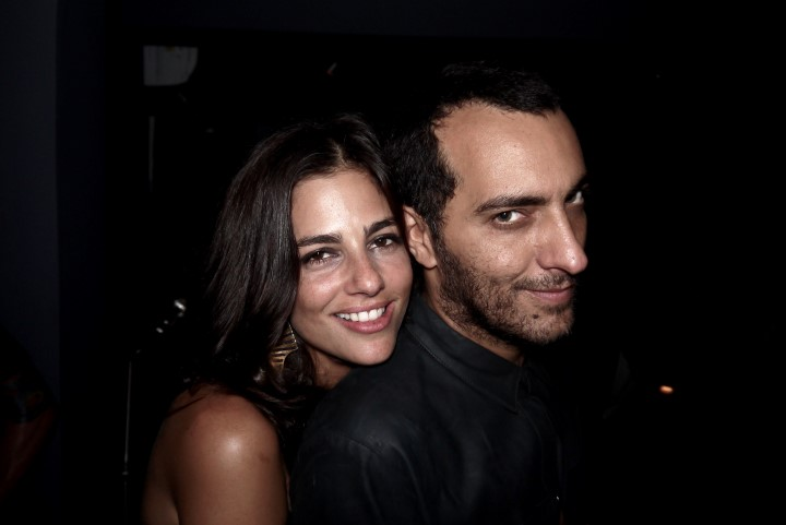 O casal Renata Mader e Cande Salles