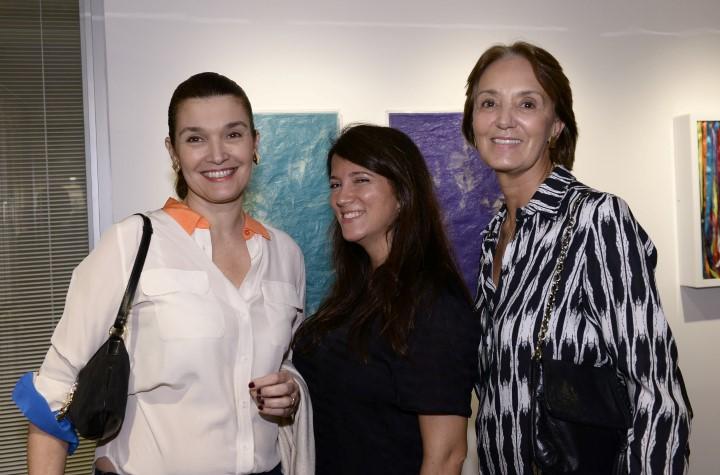 Taciana Indio da Costa ,  Mariana Orberg e Tininha Orberg