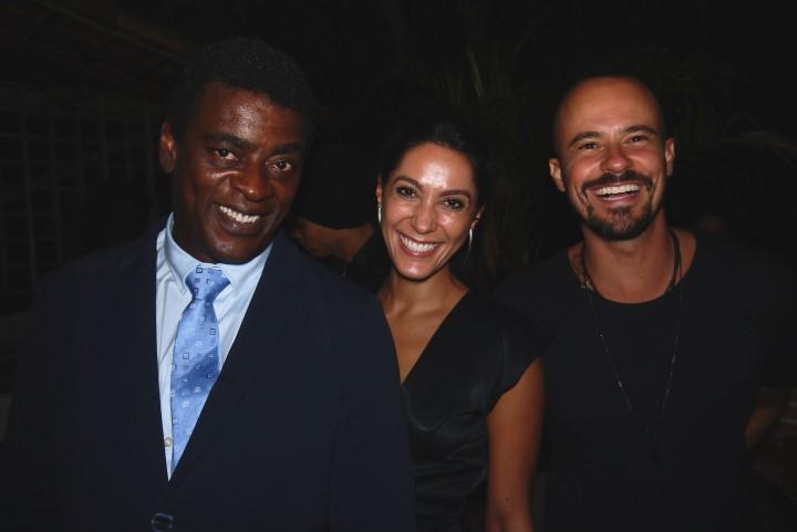 Seu Jorge, Kessey Esteves e Paulinho Vilhena