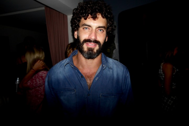 O ator Nikolas Antunes