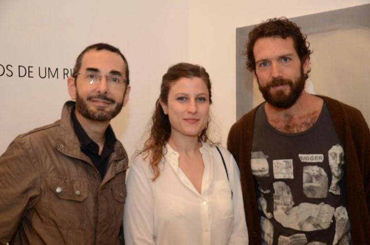 Alexandre Muricci, Goia Mujalli e Antonio Bokel