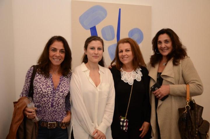 Ana Luiza Rego, Goia Mujalli, Heleninha Amorim e Christiana Malta
