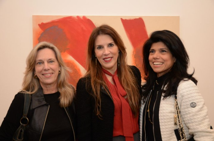 Carla Segaud, Claudia Souza Campos e Ana Lucia Azevedo