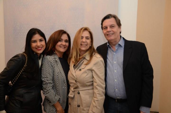 Paula Brafman, Ana Andreazza, Felicia Brafman e Ricardo Saraiva de Andrade