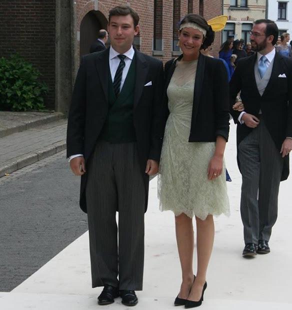 Princesa Alexandra e Princípe Sebastian