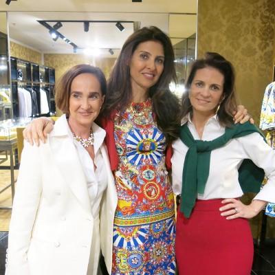 Dolce&Gabanna abre sua loja no Village Mall em clima de supremo luxo