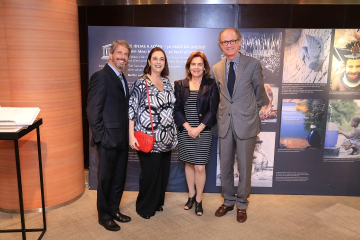 Audemar Aguiar, Marlova Noleto,  Eduardo Prisco Ramos e esposa Vera Ramos