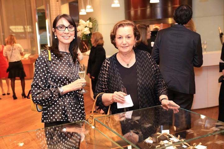 Adelaide Santos e Teresa Renno