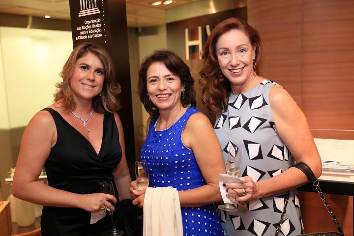 Mariana Saad, Ana Lucia Guimarães e Ana Thereza Botafogo