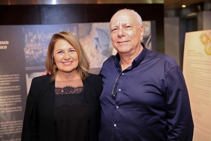 Maria Luiza Trotta e Pedro Jonsson
