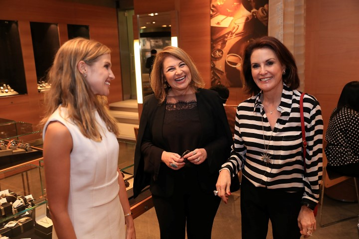Alix de Ligne, Maria Luiza Trotta e Regina Martelli