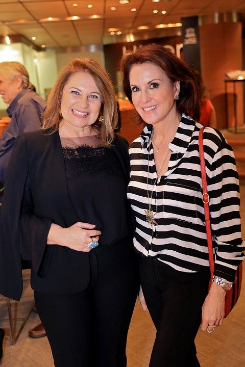 Maria Luiza Trotta e Regina Martelli