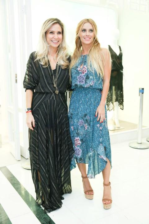 Maria Rita Magalhães Pinto e Carolina Dieckmann