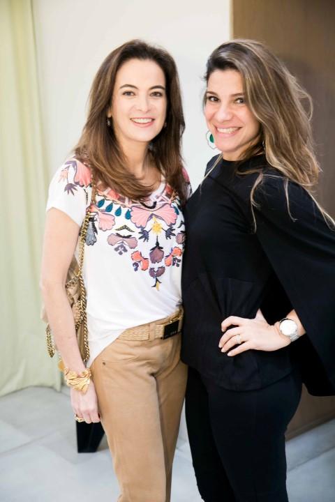 Patricia Moreira e Tatiana Bonaparte
