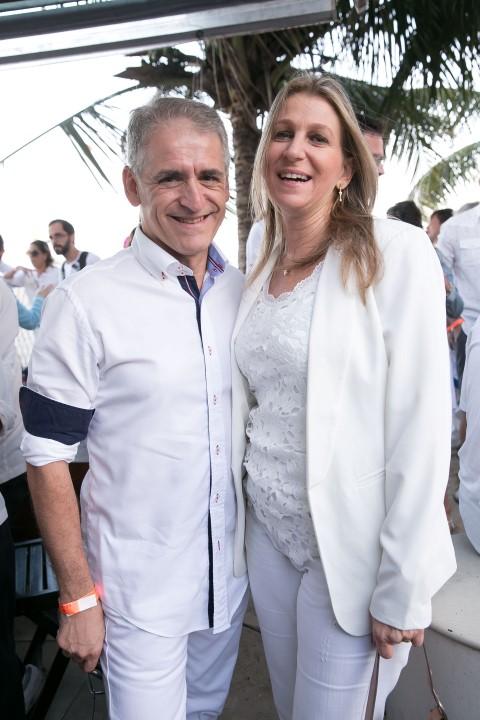 Roberto Cohen e esposa
