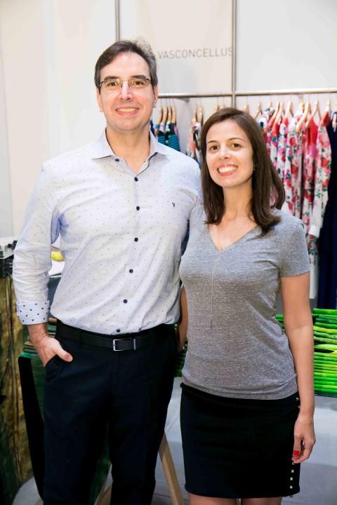 Rogerio Vasconcellos e Marta Meirelles