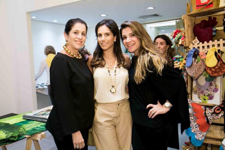 Rosana e Daniela Bernardes e Tatiana Bonaparte