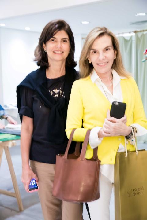 Viviane Grabowsky e  Henriqueta Gomes