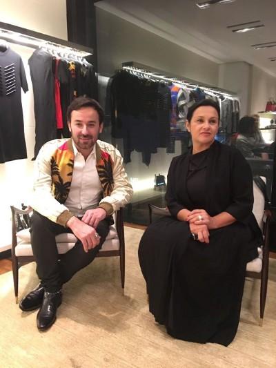 A Louis Vuitton arma palestra com os curadores internacionais Danniel Rangel e Tereza de Arruda em Ipanema