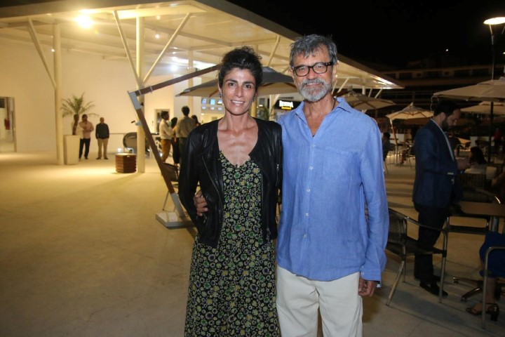 César Coelho Gomes e Laure Bacqué