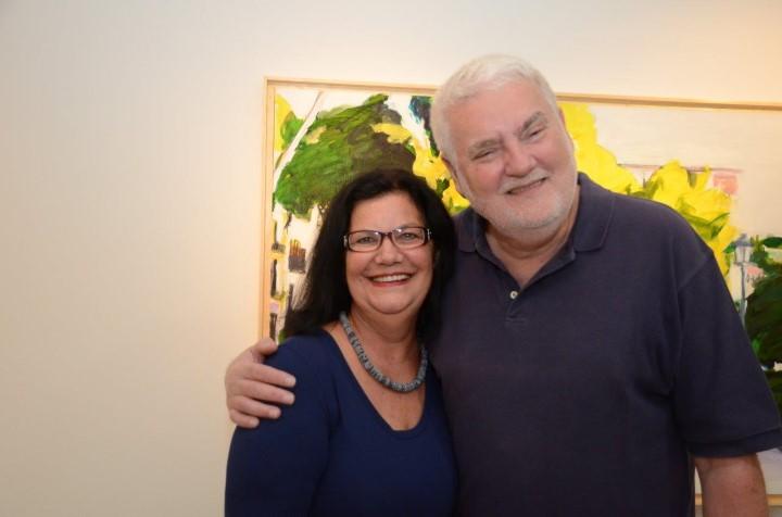 Celina Azevedo e John Nicholson