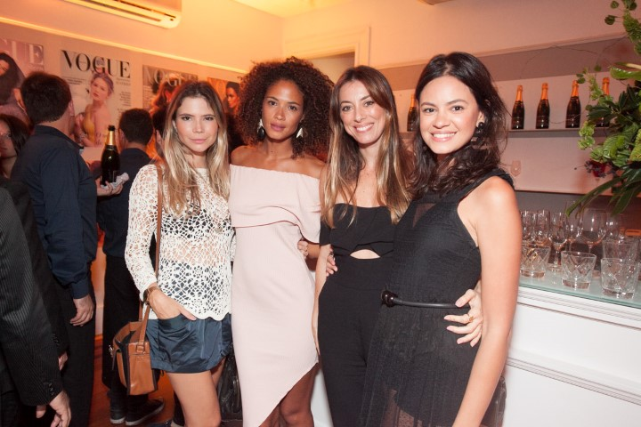 Glenda Ritterling, Ana Paula Alves, Fabiola Cabral e Bia Bretanha