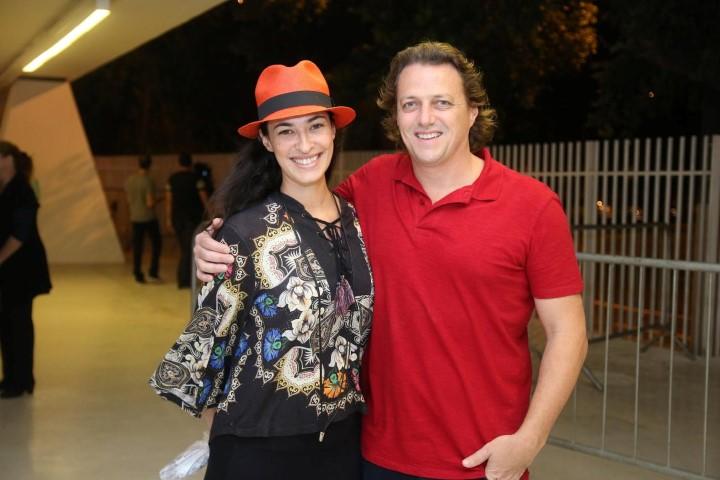 Olivier Cozan e Ana Tonani