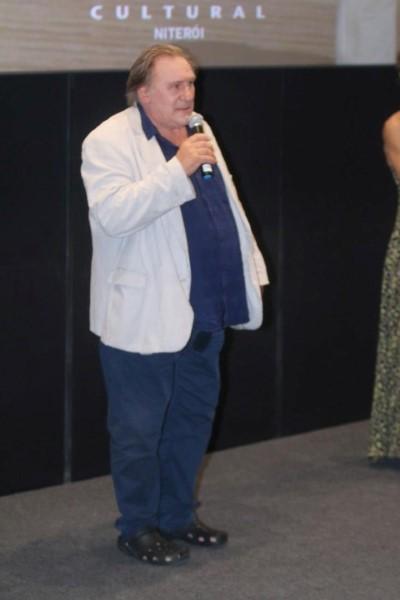 """Gérard Depardieu lança o filme """"O Vale do Amor"""" no Reserva Cultural Niterói"""