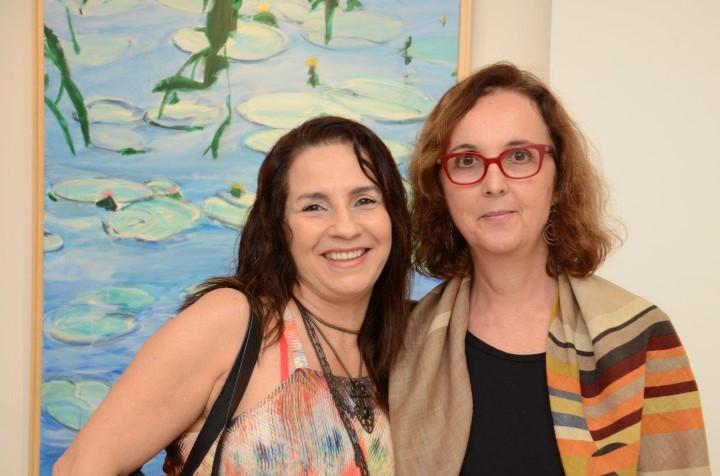 Ligia Teixeira e Luiza Interlenghi
