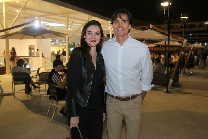 Marcelo Fonseca e Janisa Leite