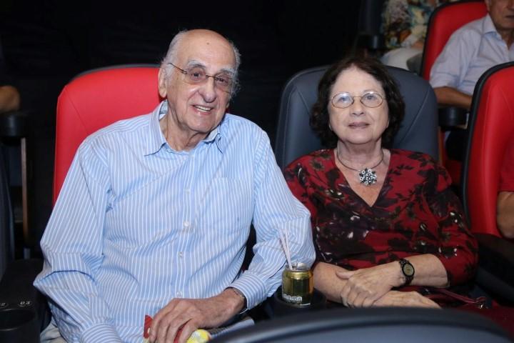 Zuenir e Mary Ventura