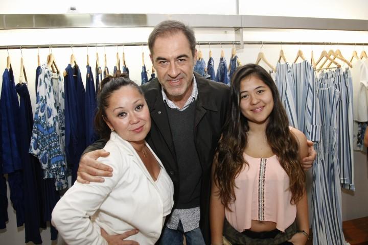 Renata Alonso, marzio Fiorini e Victoria Craste