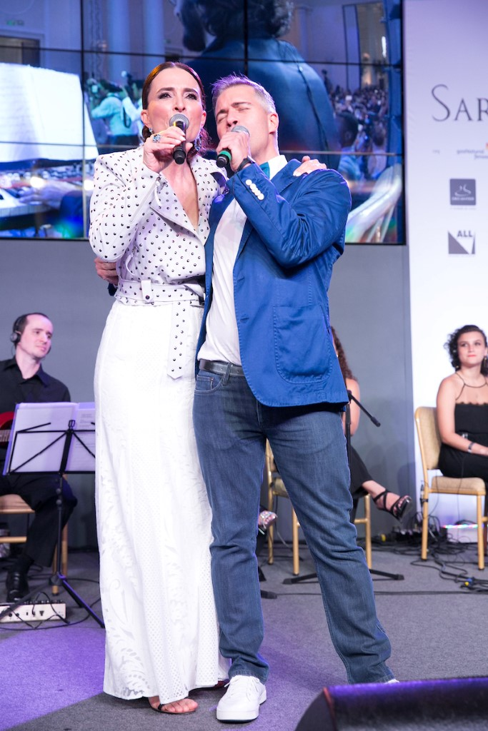 Andrea Natal e Jayme Drummond