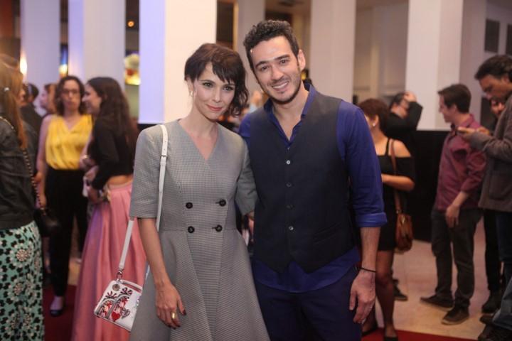 Debora Falabella e Marcos Veras
