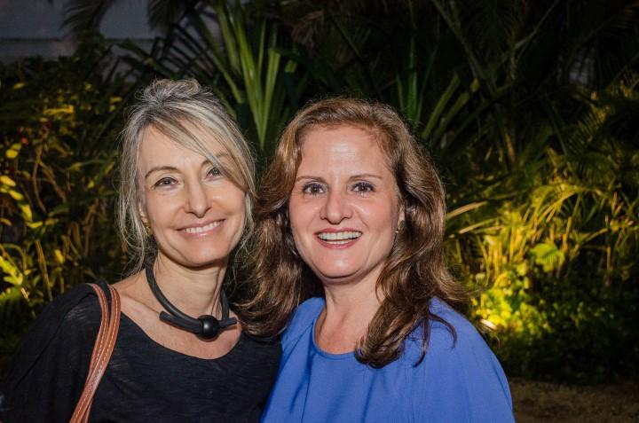Patricia Marinho e Katia Danemberg