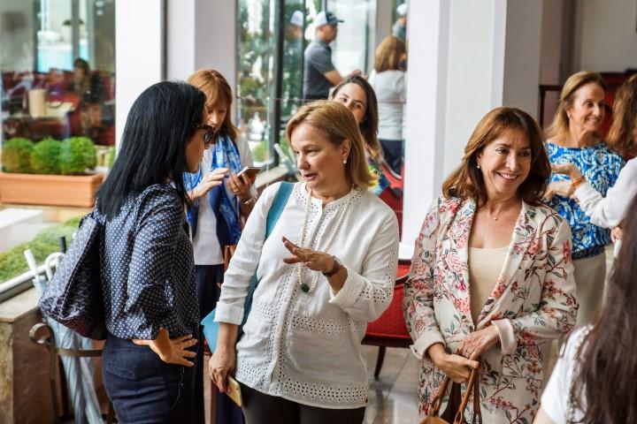 Cristina Almeida, Angela Gouvea Vieira e Luiza Villela