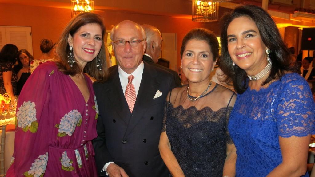 Naná Paranaguá, Hans  e Juju Mueller e Joy Garrido