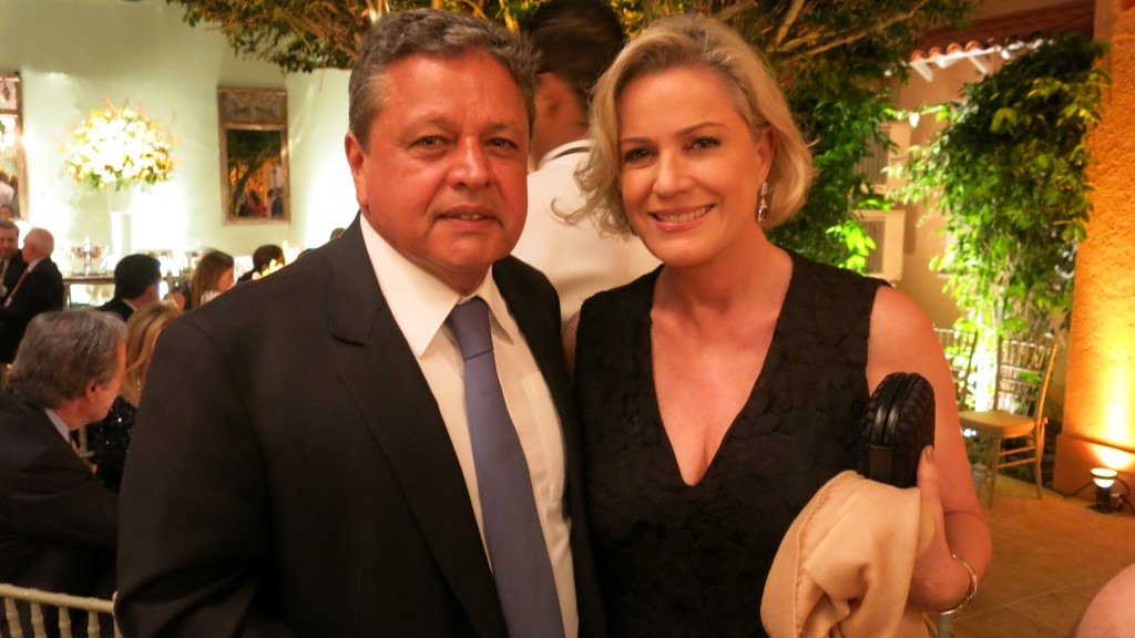 Aloisio Teixeira e Marcia Peltier