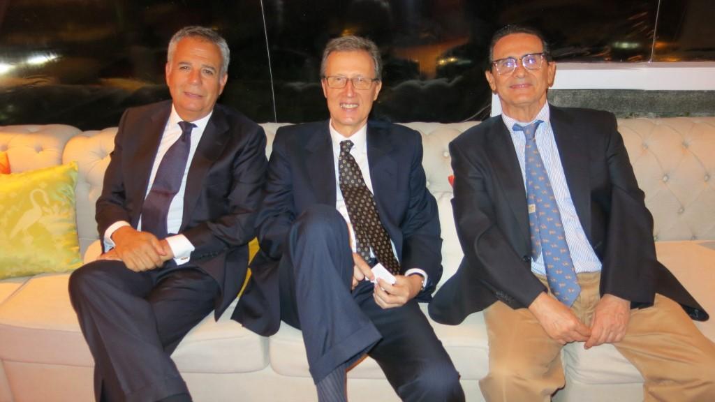 Luiz Otavio Motta veiga, Nelsinho Batista e Hélio Paulo Ferraz