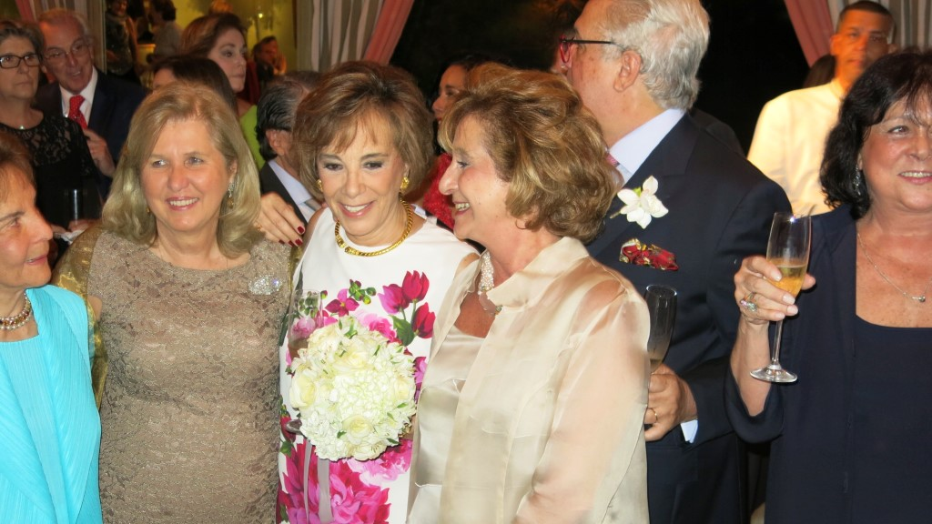 Os noivos Isabelle de Segur e Cesar Arthou