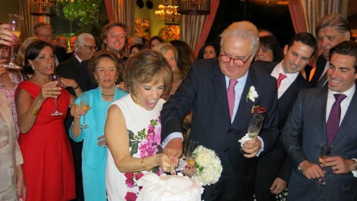 O casamento de Isabelle de Ségur e César Arthou uma noite para ficar na lembrança de 2016