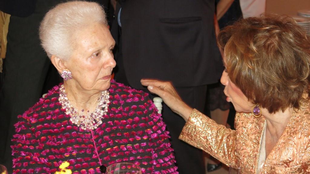 Maria Thereza Williams e Vera Bocayuva