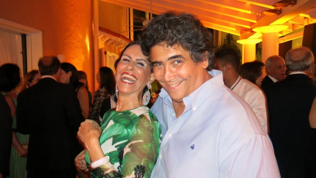 Beth Pinto Guimarães e Antonio Neves da Rocha