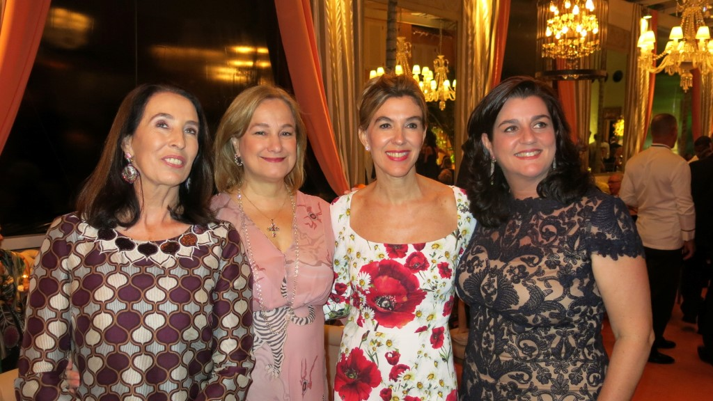 Marina Sauer, Angela Gouvea Vieira, Bete Floris e Maritza Orleans e Bragança