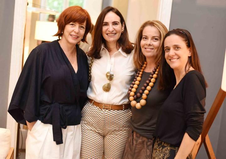 Adriana Tavares, Anna Clara Tenembaum, Bete pádua e Paola Lobo
