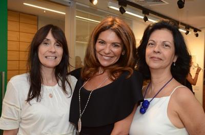 Claudia Ferraz , Jacqueline Plass e Martha Pagy