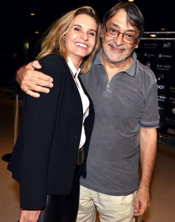 Paula Burlamaqui e Walter Lima Jr