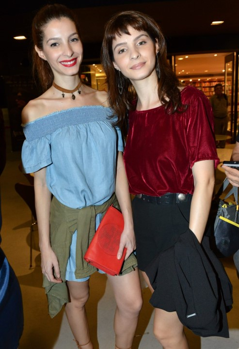 As irmãs Michelle e Giselle Batista
