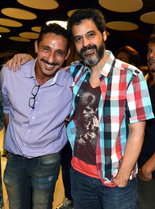 Tuca Andrada e Bruno Garcia